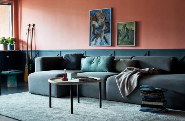 Colours contemporary-vardagsrum