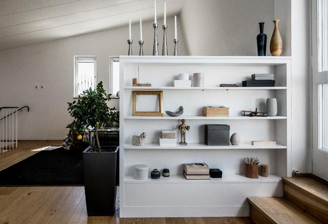 Nordisches Wohnzimmer in Stockholm