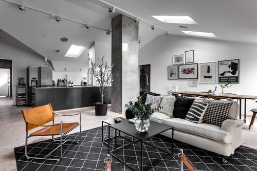 snygg inredning lägenhet