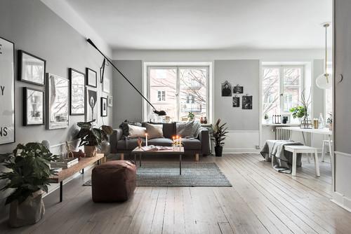 Et-værelses i rå/nordisk stil... - BoligciousBoligcious