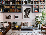 eclectic living room - My Houzz: A Home Built Around Art and Family (15 photos)