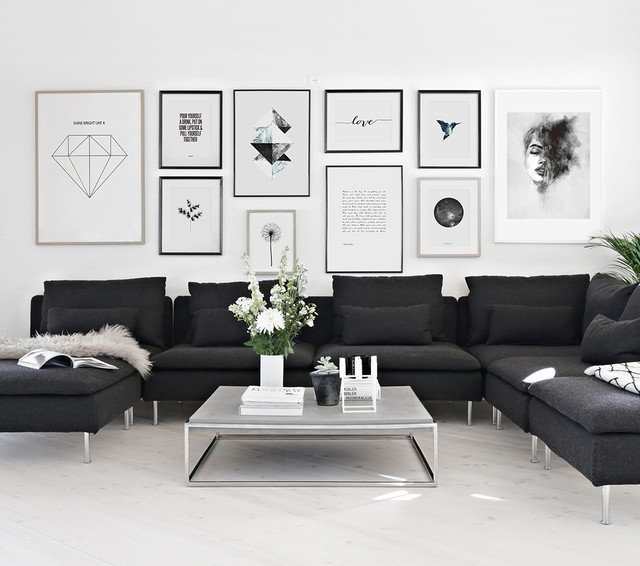 black and white wall pictures for living room inspiration for your wall vardagsrum annan av desenio 28163