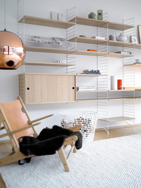 Inspiration skandinavisk-vardagsrum