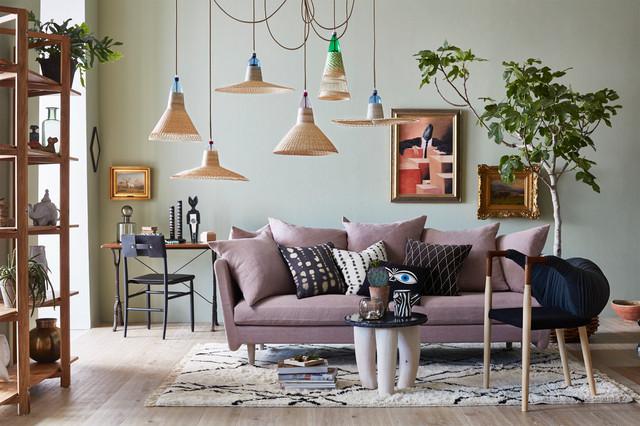 Parete Dietro Divano Grigio : Il colore giusto dietro al divano ce ne sono ben da provare