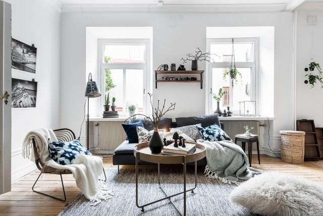 8 soggiorni in perfetto stile scandinavo e come ricrearli a casa. Black Bedroom Furniture Sets. Home Design Ideas