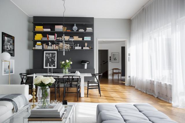 13 ideen wie sie ein kleines wohnzimmer mit essbereich. Black Bedroom Furniture Sets. Home Design Ideas