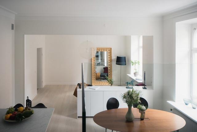 Tomtrick modern-vardagsrum