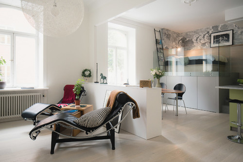 How to Use Half Walls to Divide an Open Plan Design