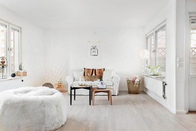 Idéer för skandinaviska vardagsrum