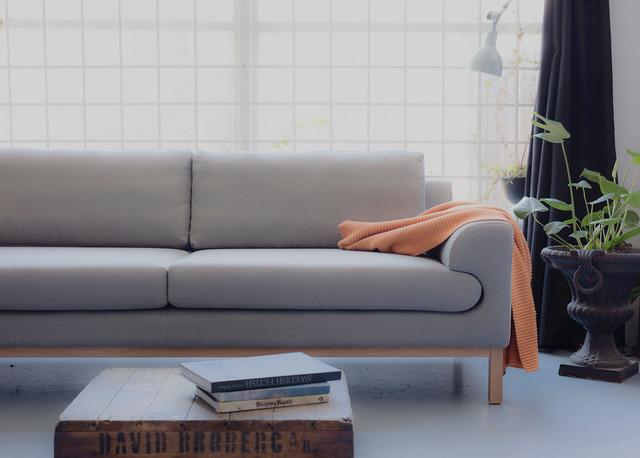 soffa grå