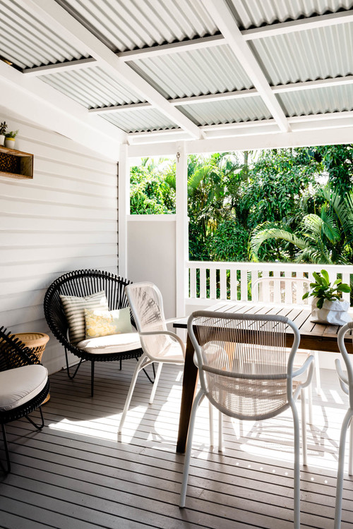 how to style a pergola with cushions