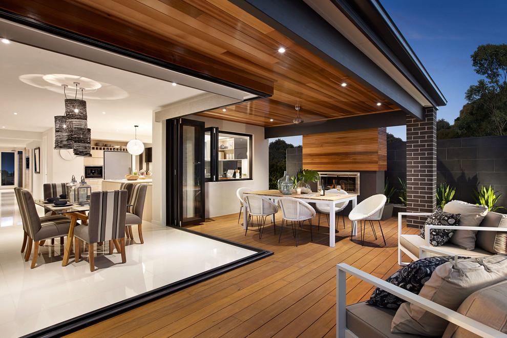 Trendy porch photo in Melbourne