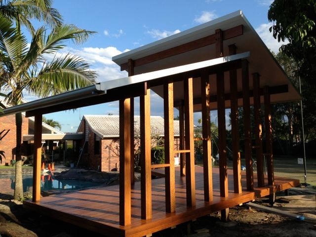 Gazebo Contemporary : Gazebo - Contemporary - Porch - Brisbane - by VeitchWood Constructions