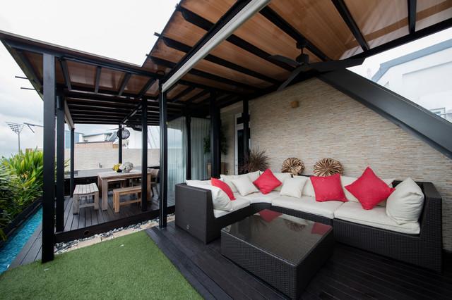 Parc Rosewood contemporary-veranda