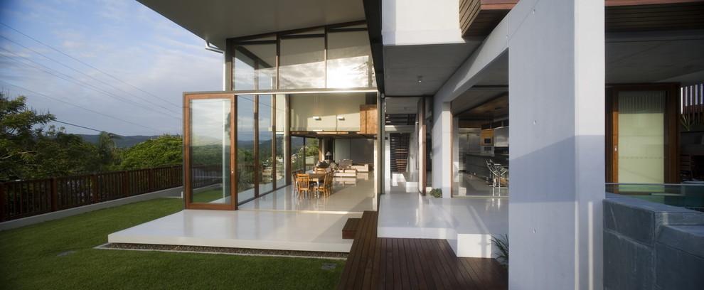 Trendy porch idea in Brisbane
