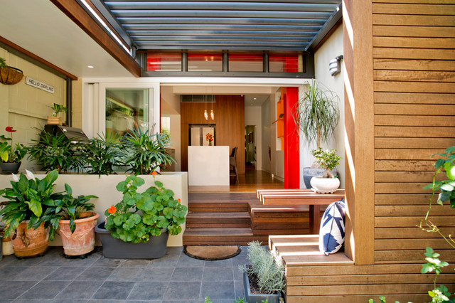 Surry hills terrace house contemporary porch sydney for Terrace house new season