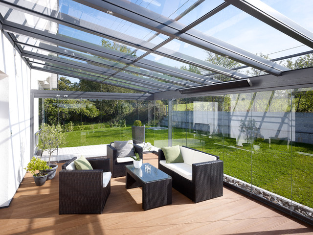 Jardin Du0027hiver Contemporary Sunroom Images Etonnantes