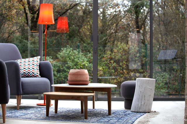 maison revisite lesprit campagne chic campagne veranda et verriere - Esprit Campagne Chic