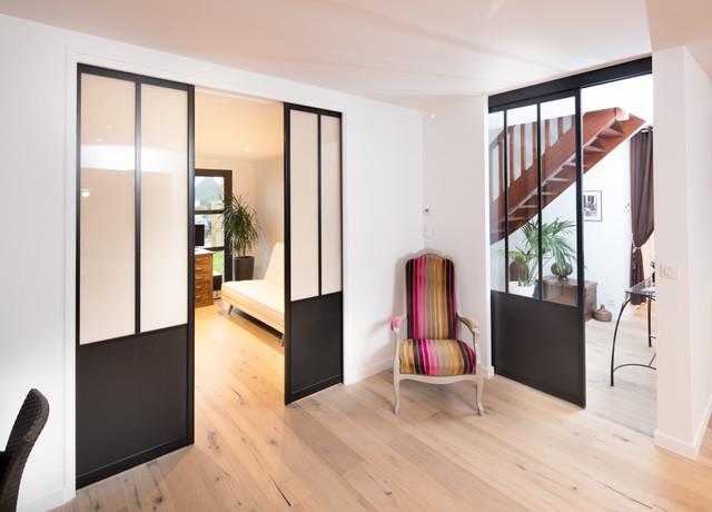 Portes Coulissantes Style Atelier Sur Mesure Industriel