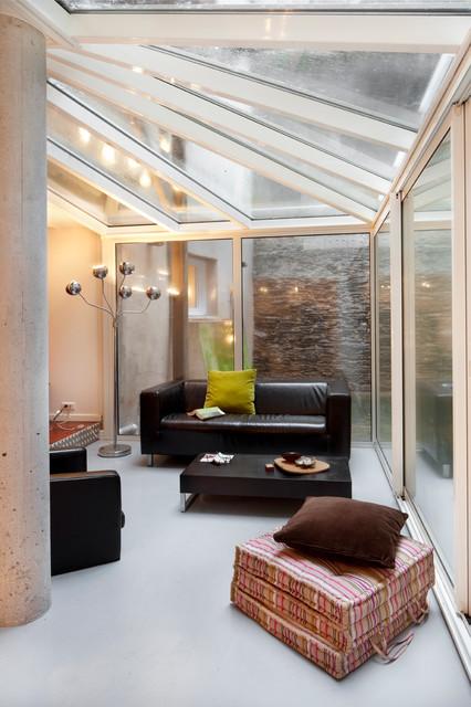projet bodinier contemporain v randa et verri re angers par padeker. Black Bedroom Furniture Sets. Home Design Ideas