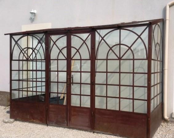 serre murale 3m60x1m50 style l 39 ancienne. Black Bedroom Furniture Sets. Home Design Ideas
