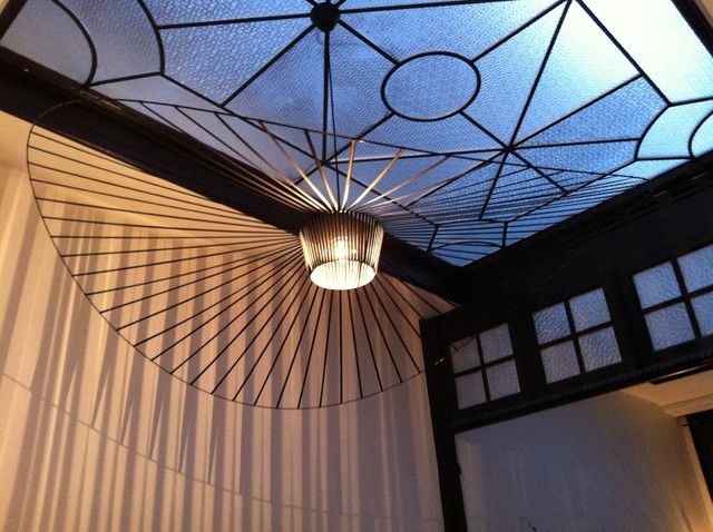 Suspensions vertigo dans maison de ma tre modern sunroom other by r v - Decoration maison de maitre ...