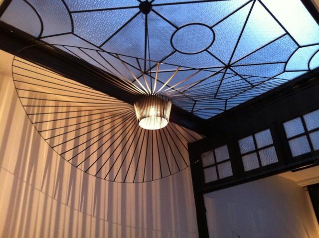 Suspensions vertigo dans maison de ma tre modern sunroom other by r v - Decoration maison de maitre ...