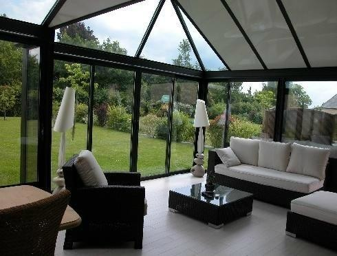 Veranda Contemporaine Extension Salon S Jour