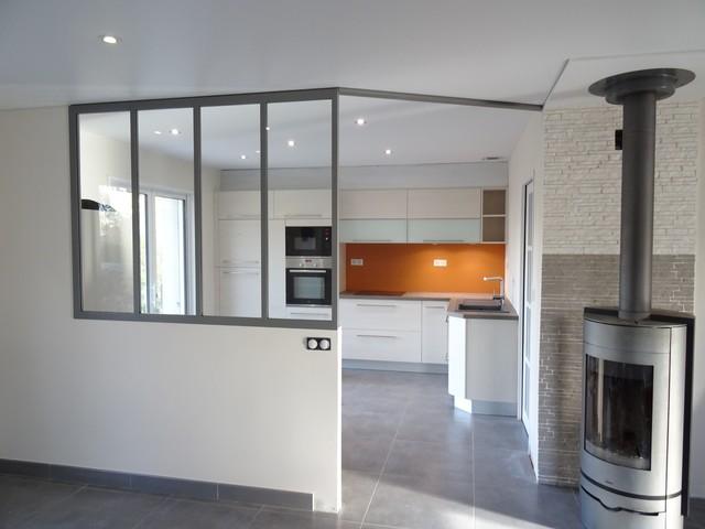Verrière intérieur - Séparation cuisine / salon