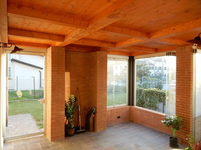 Giardino d 39 inverno vetrate tuttovetro - Giardino d inverno prezzo ...