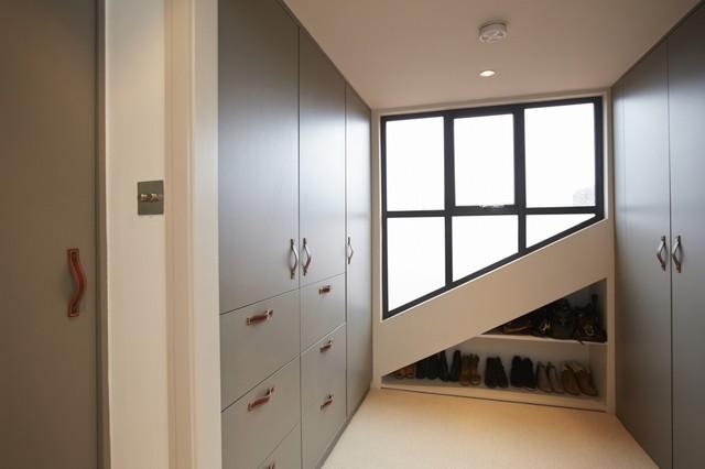 Balham Loft Conversion Contemporary Wardrobe London