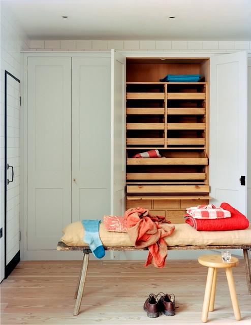 Bedroom Cupboards Transitional Wardrobe London By