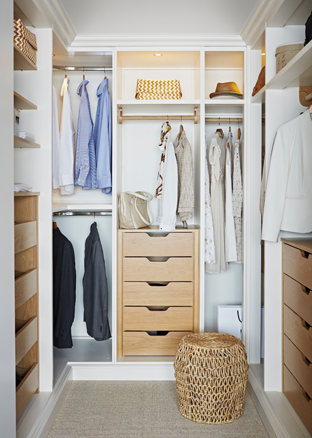 A Guide To Walk In Wardrobe Dimensions For Australia Houzz