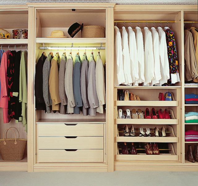 Bespoke Bedroom Walk In Wardrobe Contemporary Closet
