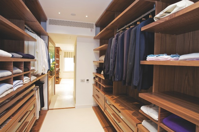 Chelsea residence contemporary closet london by for Modern walk in closets
