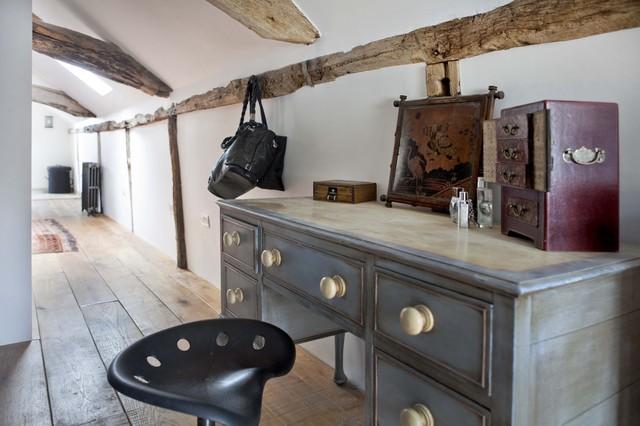 Eclectic Farmhouse Dressing Room farmhouse-closet