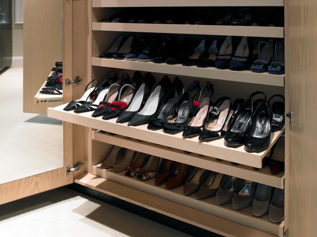 Esher Dressing Room - Contemporary - Closet - london - by Brayer Design