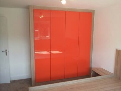 Photo of a modern wardrobe in Manchester.