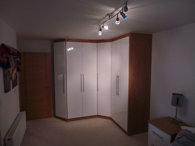 Fitted Corner Wardrobe - Modern - Armoires And Wardrobes - london - by Capital Bedrooms and ...