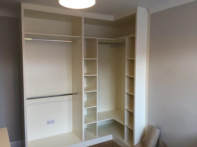 Fitted Corner Wardrobes - Modern - Wardrobe - London - by ...