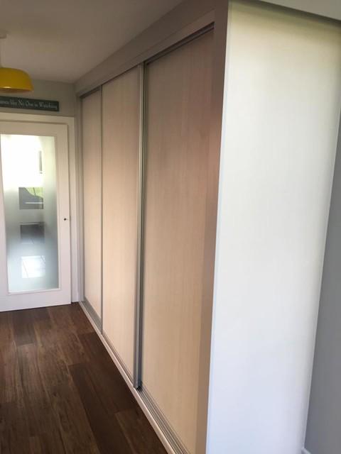 interior storage sliding door wardrobe. Black Bedroom Furniture Sets. Home Design Ideas
