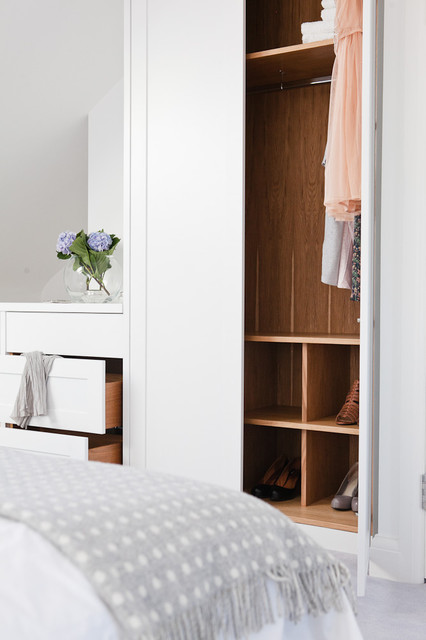 Maple amp Gray Wardrobes Closet Other Metro By
