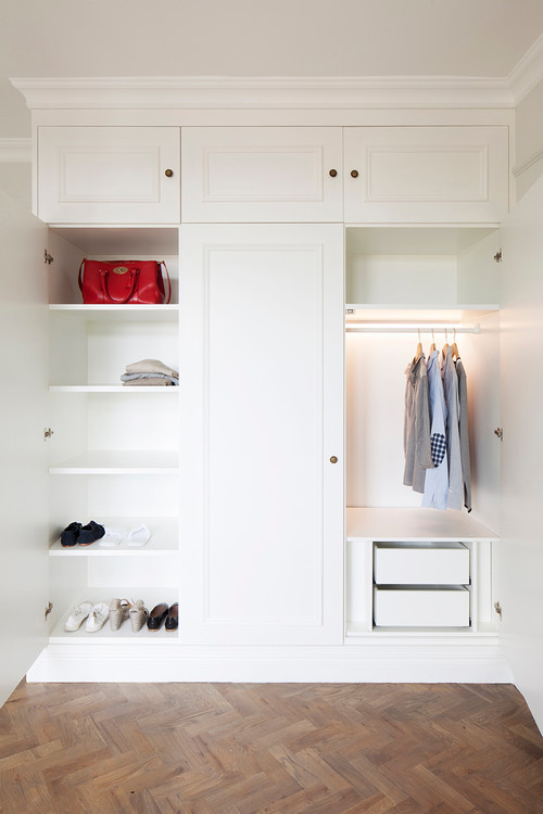 How To Organise A Small Wardrobe Houzz