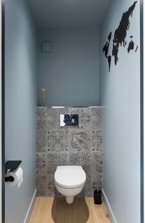 Photos et idées déco de très grands WC et toilettes avec un ...