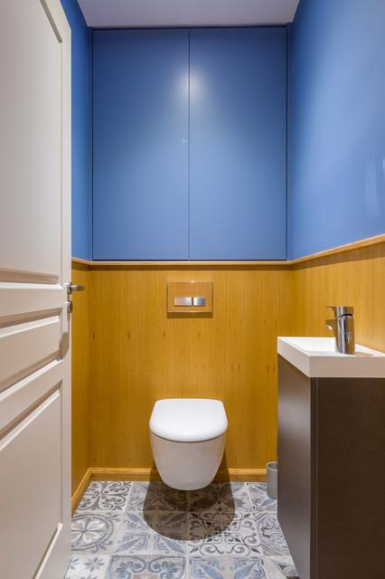 Bel appartement de 110m2 qui retrouve du style - Contemporain ...