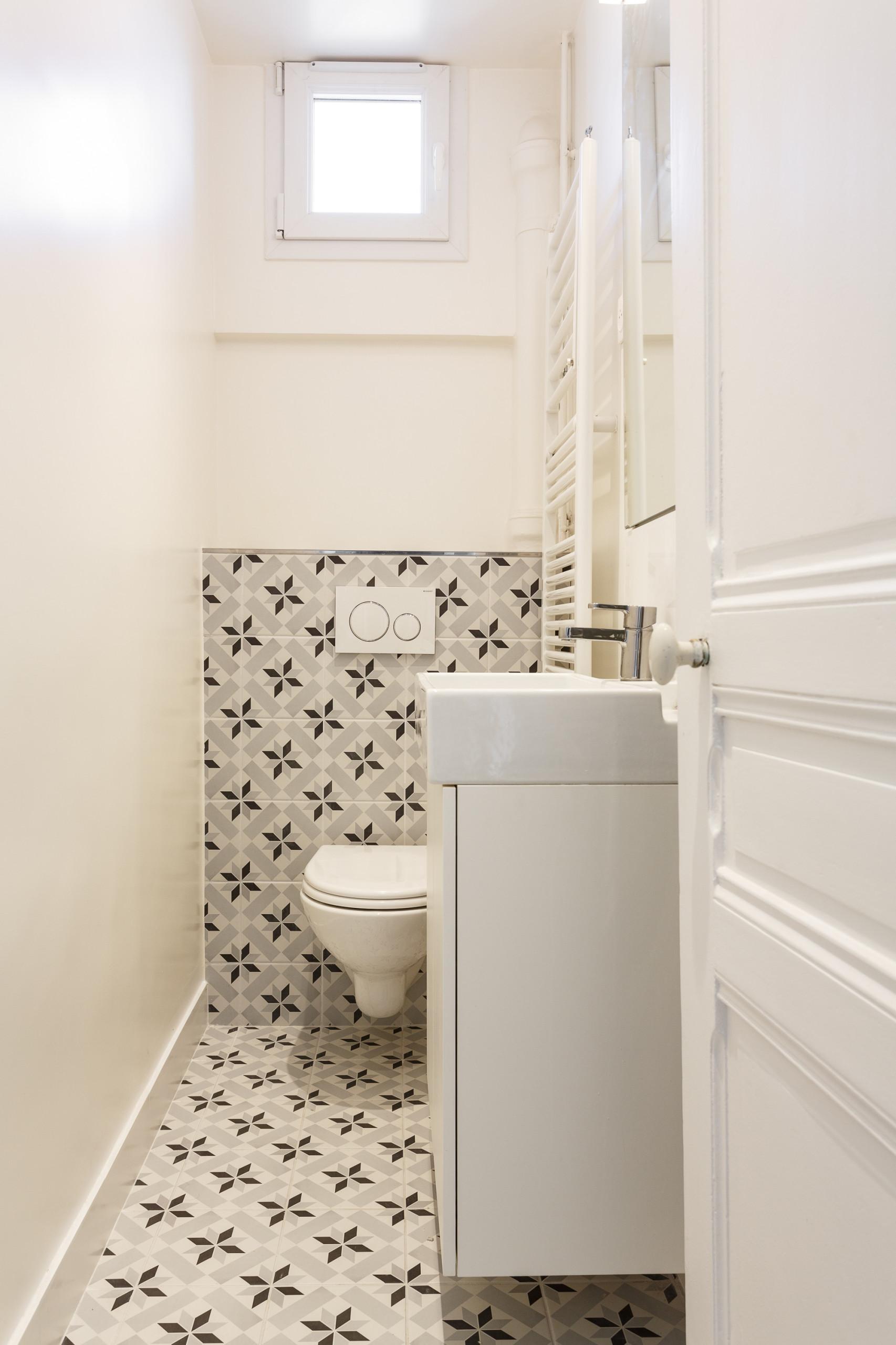 Créer un ensemble cohérent, jusque dans la salle de bains
