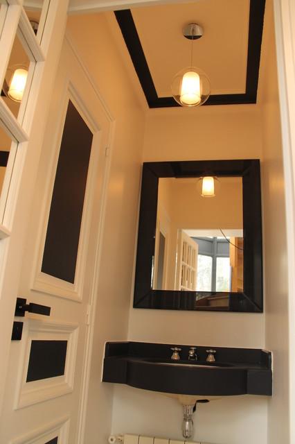 D coration contemporaine d 39 une maison classique chic for Maison classique contemporaine