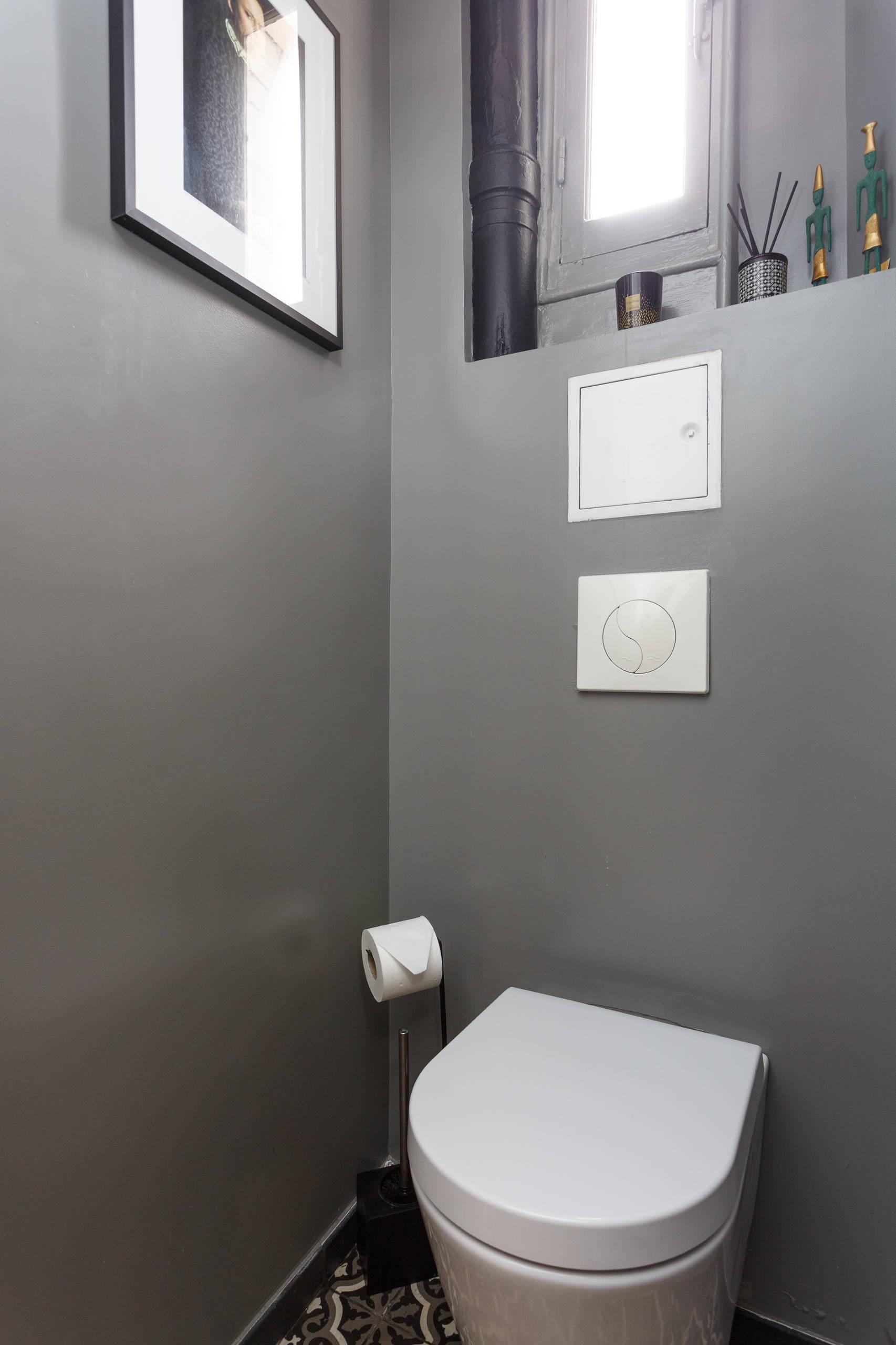 Des WC au style industriel