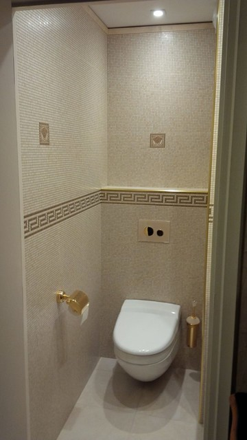 Renovation d\'un WC - Moderne - Toilettes - Lyon - par clai