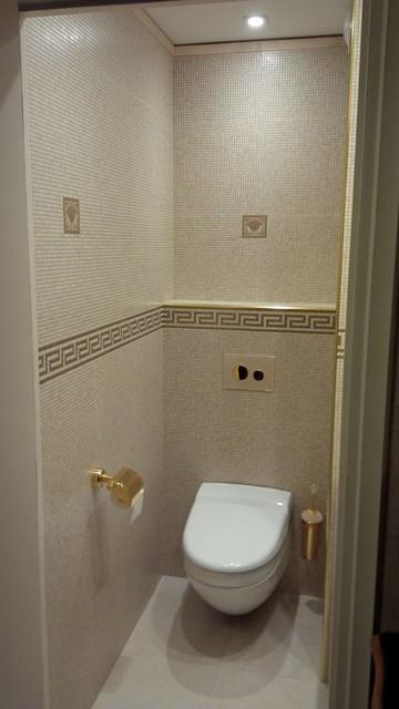 Renovation d\'un WC - Moderne - Toilettes - Lyon - par clai